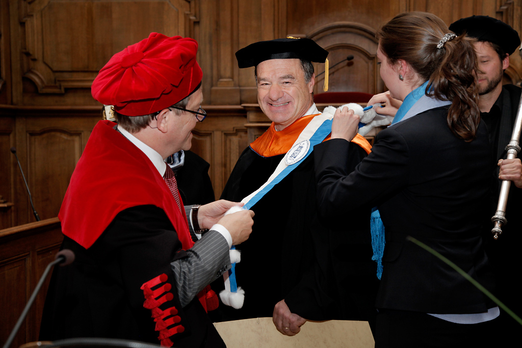 Honorary doctorate for Stanford chemical engineer Gerald