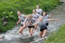 No river too deep, no hurdle too high: Survival of the Student obstacle race