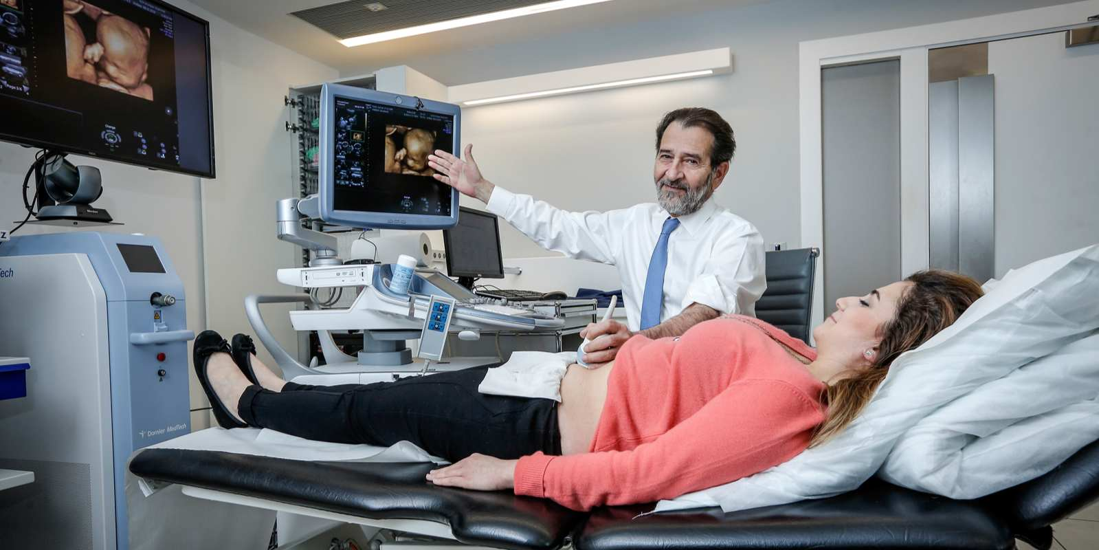 "Kypros Nicolaides, world expert in fetal medicine: ""We must"